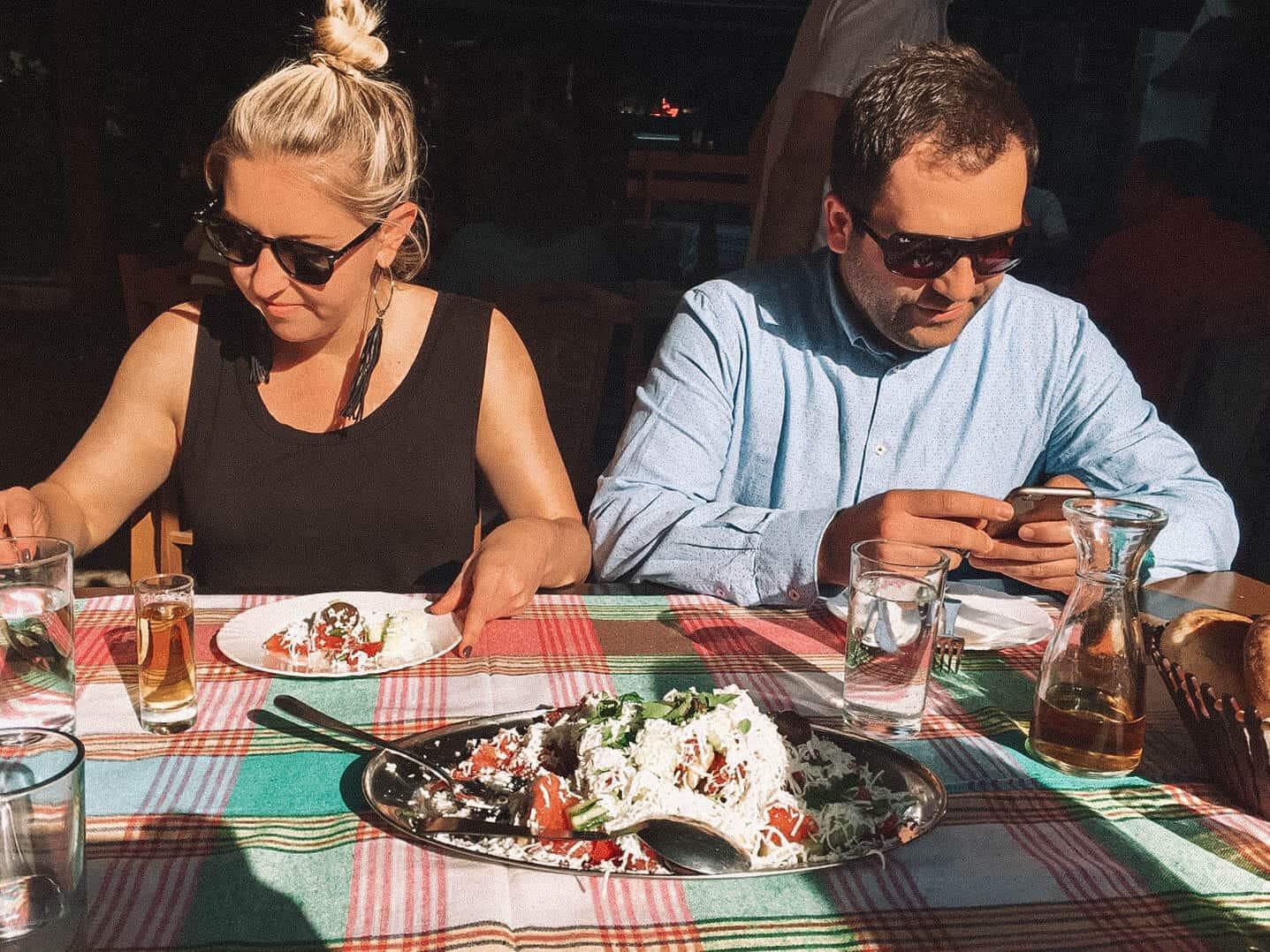Shopska Salad - Skopje