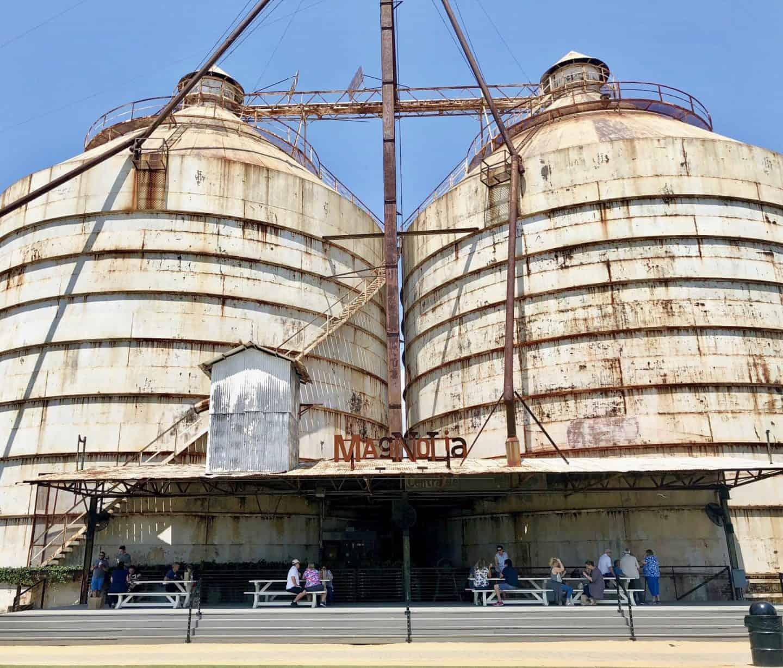 silos at magnolia market