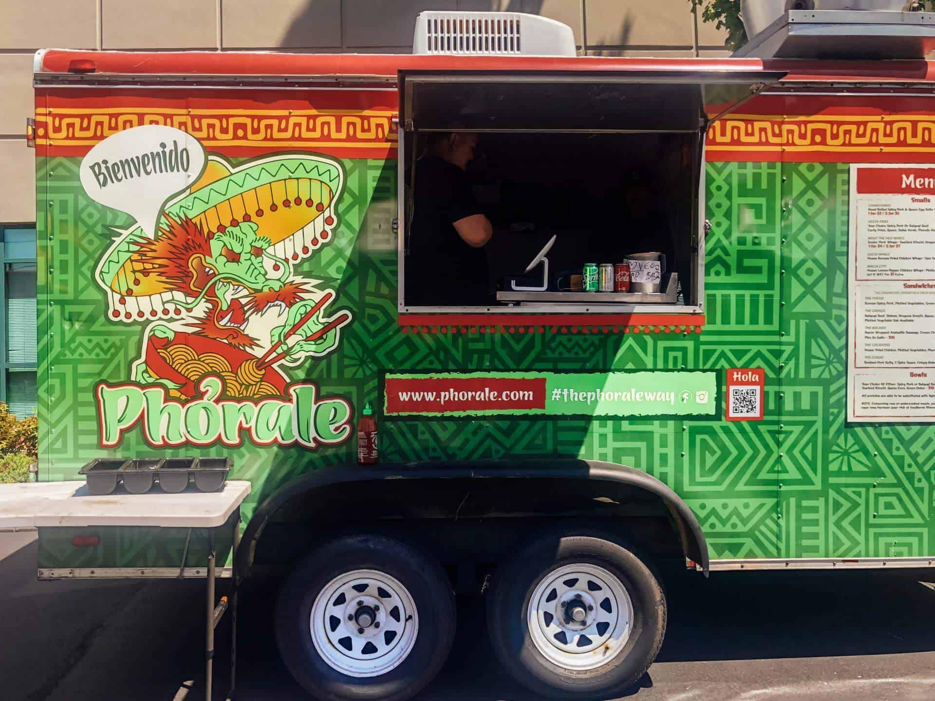 Phorale food truck