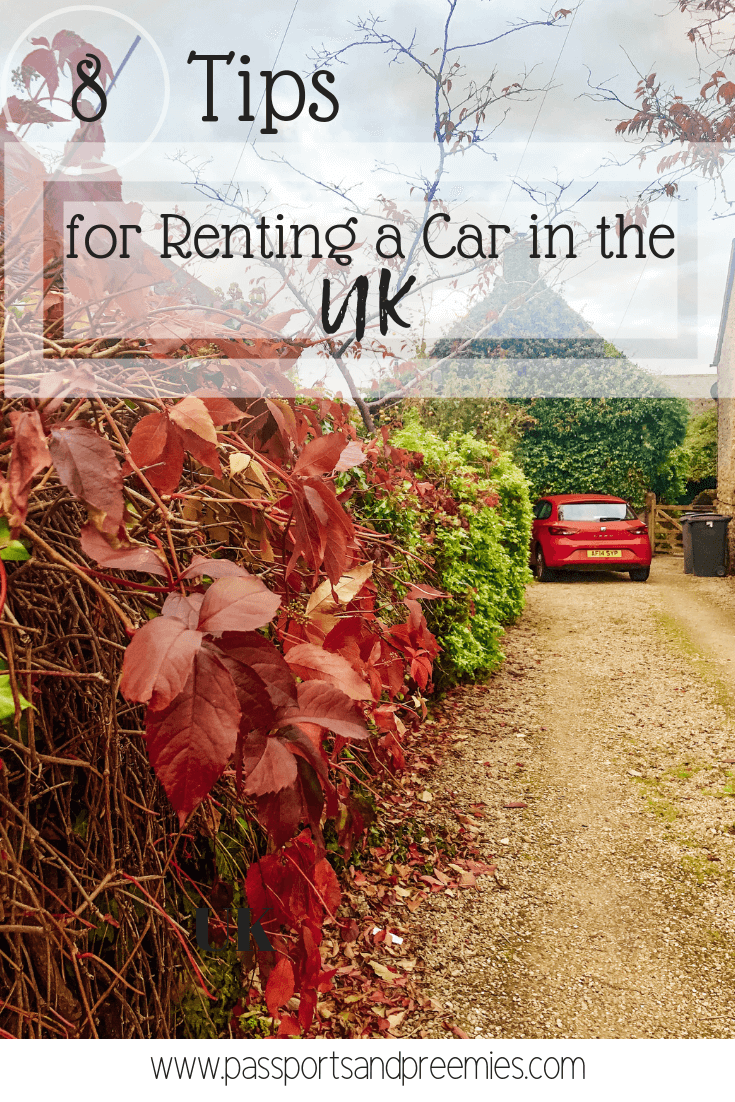 Pin Me - Eight Tips to Renting a Car in the UK