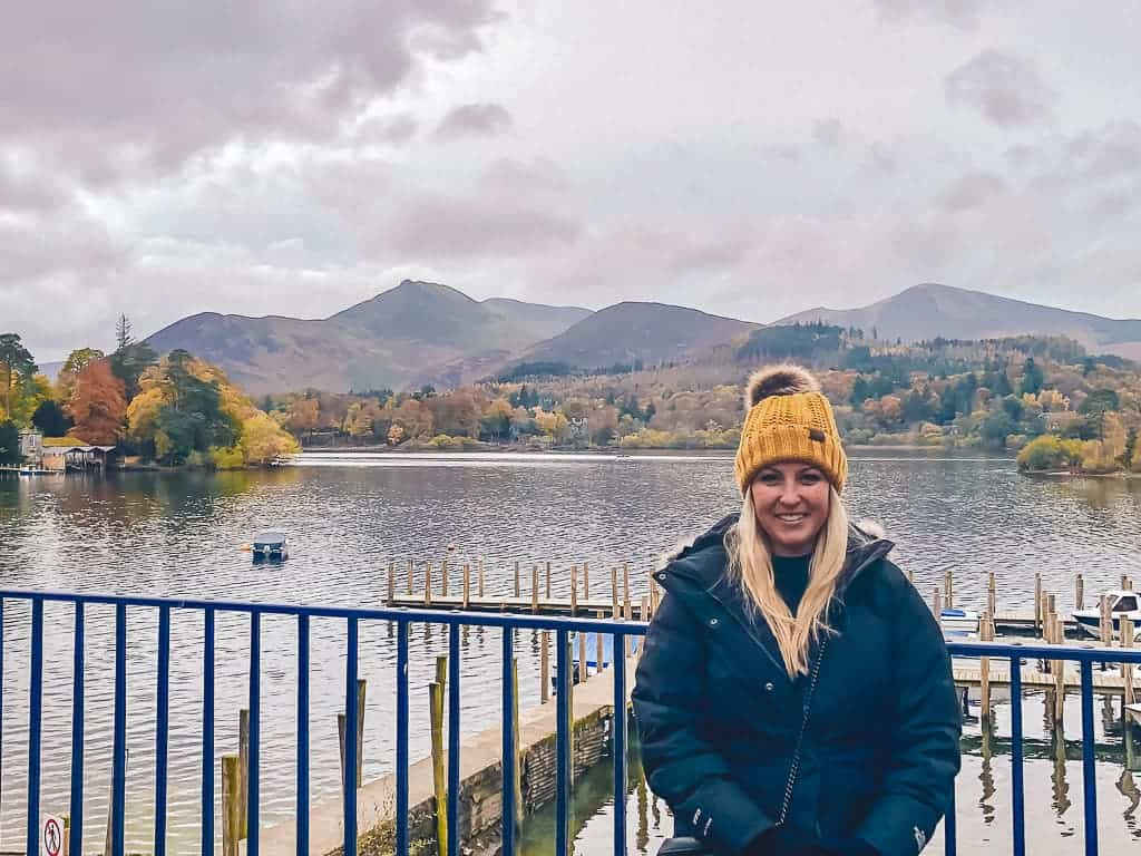 me in front of derwenterwater lake