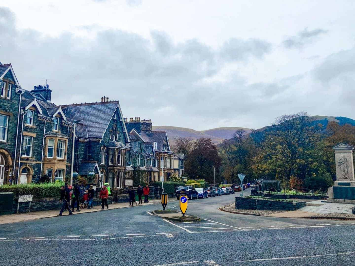 old houses in keswick, cumbria