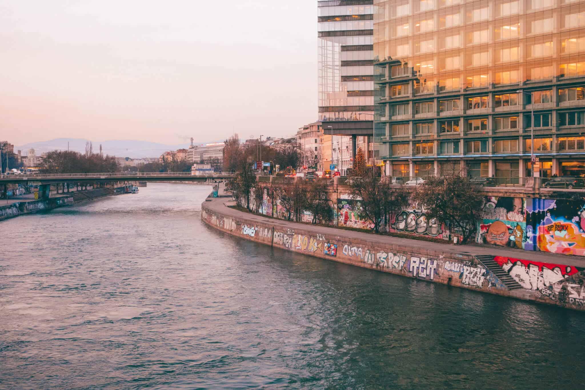 Danube River - Vienna