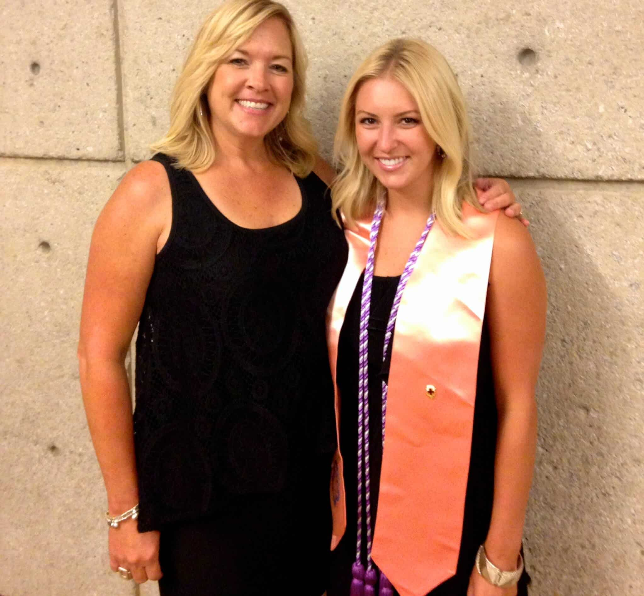 Graduation from Emory nursing school