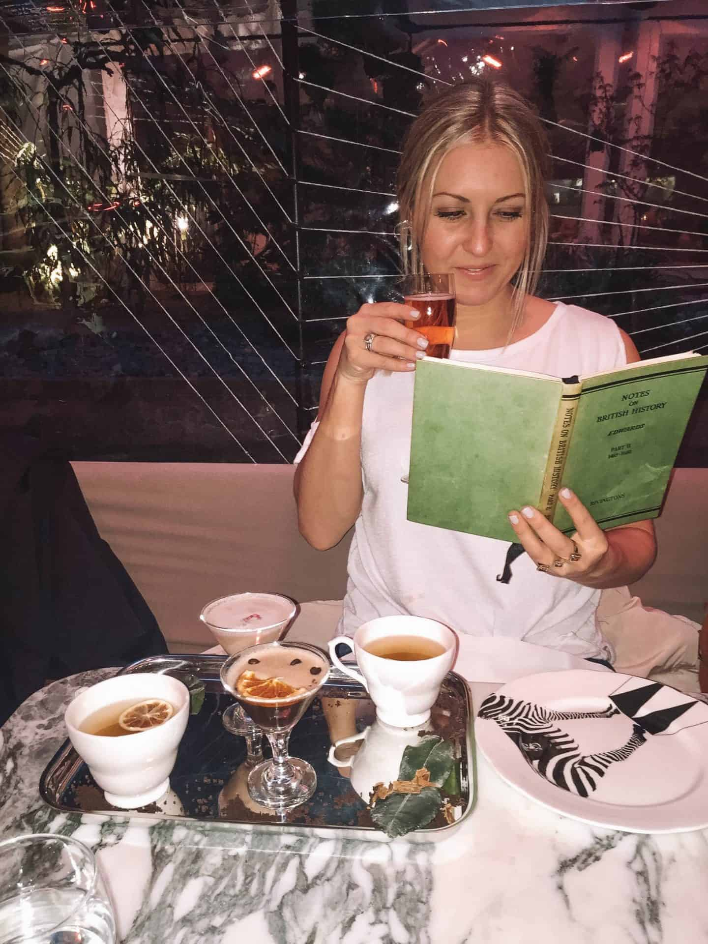 afternoon tea spread