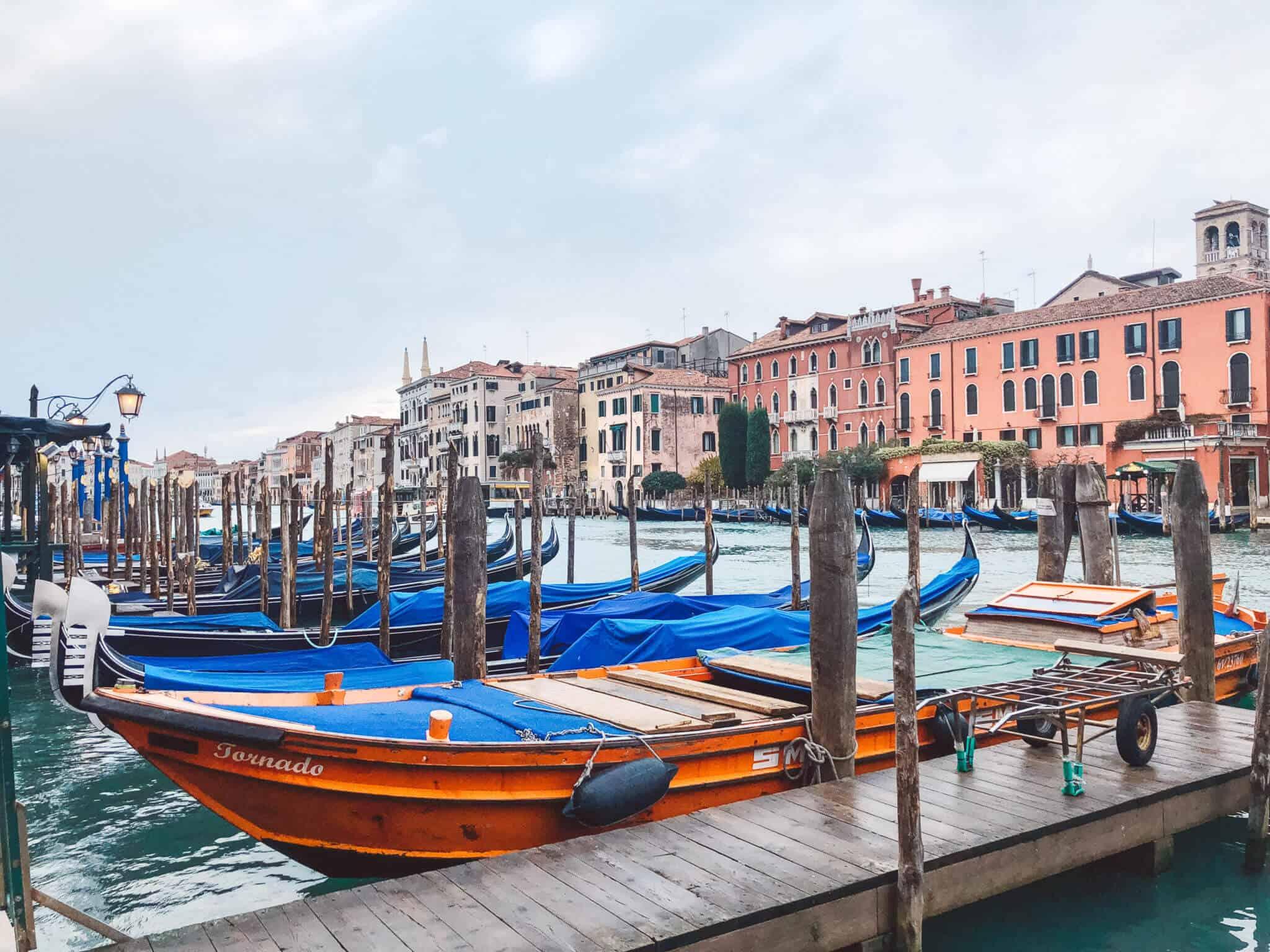 Venice, Italy - Gondolas