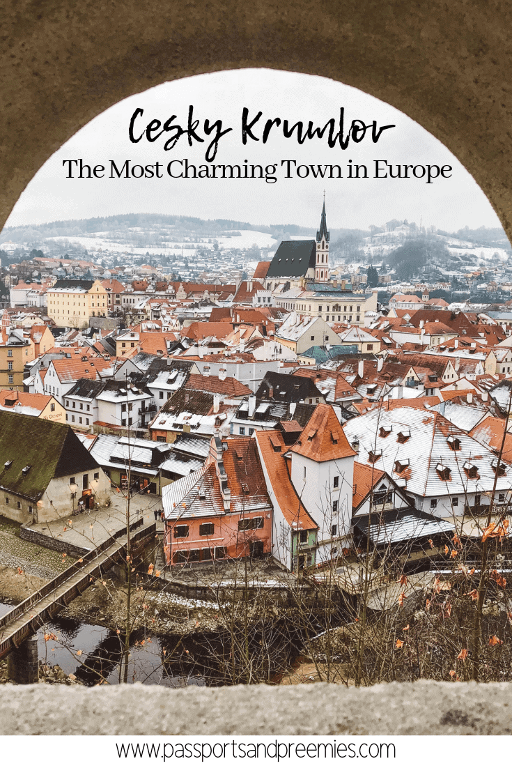 Pin Me! Cesky Krumlov The Most Charming Town in Europe