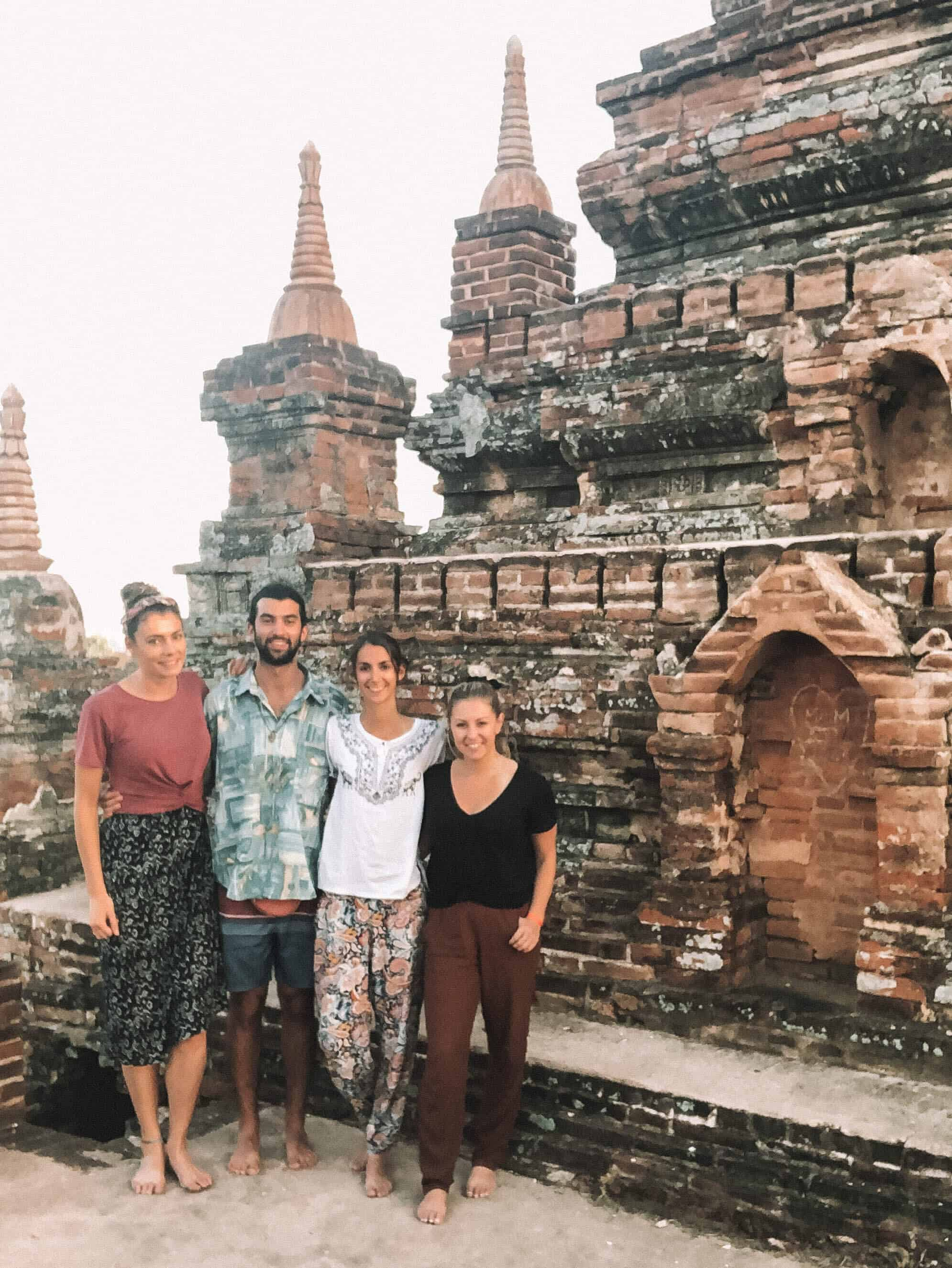 Friends in Bagan