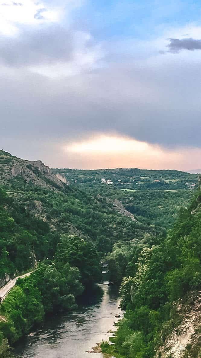 canyon matka, macedonia