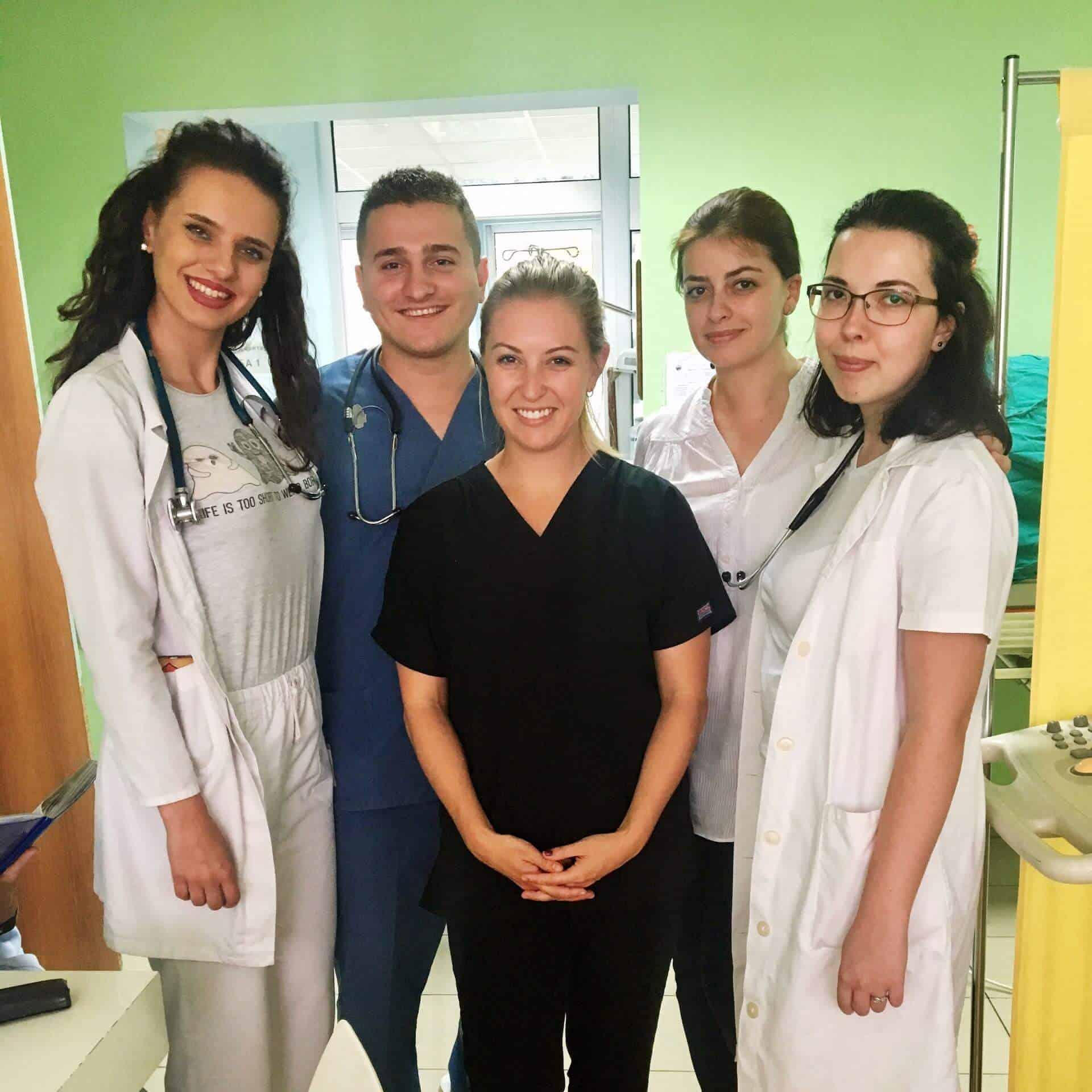doctors and nurses in macedonia