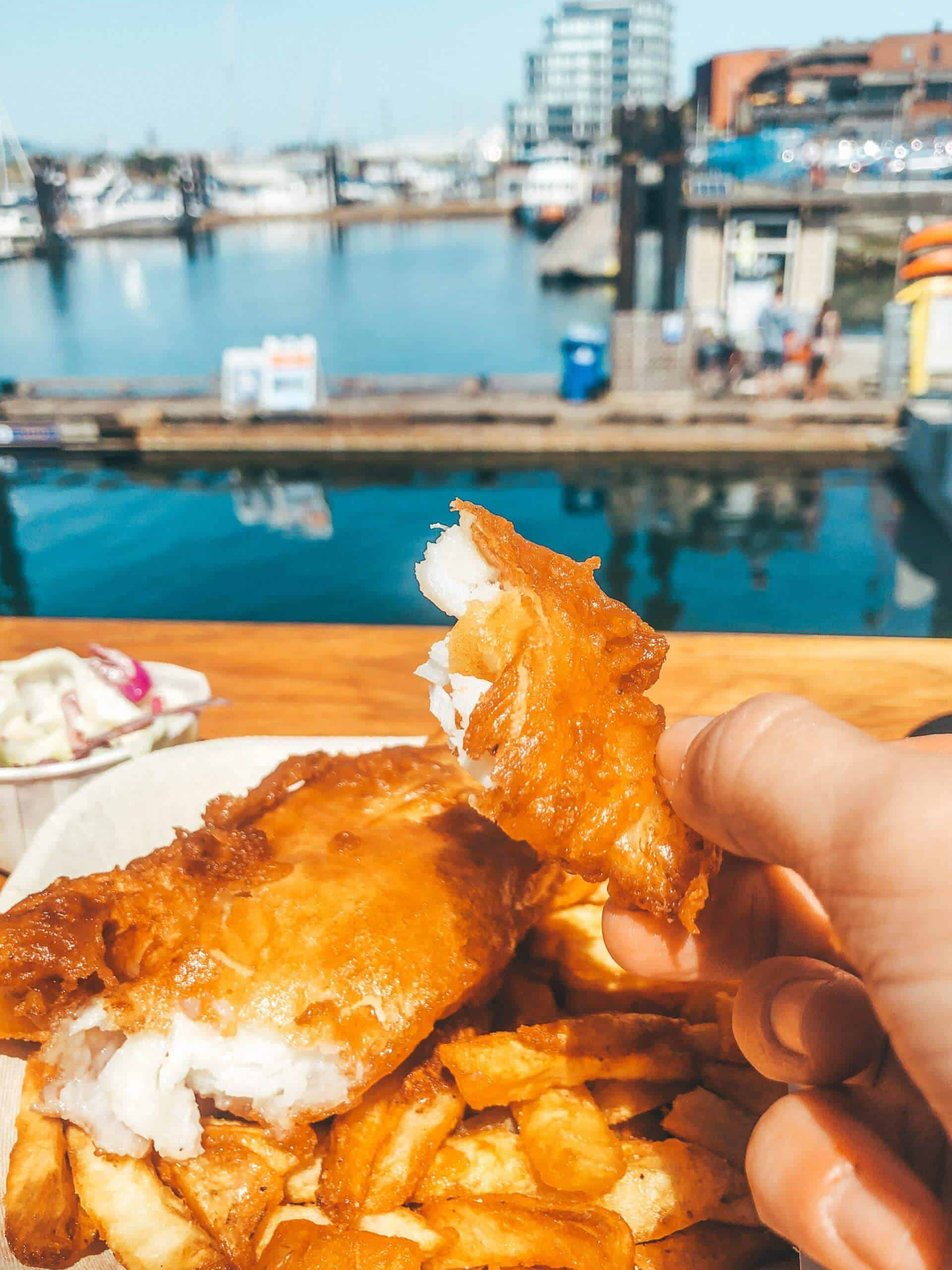 fish n chips outside