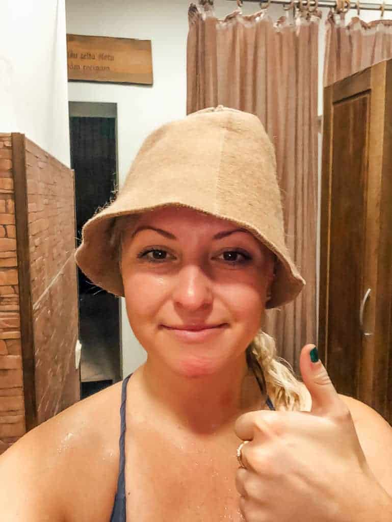 A Solo Experience in a Latvian Sauna