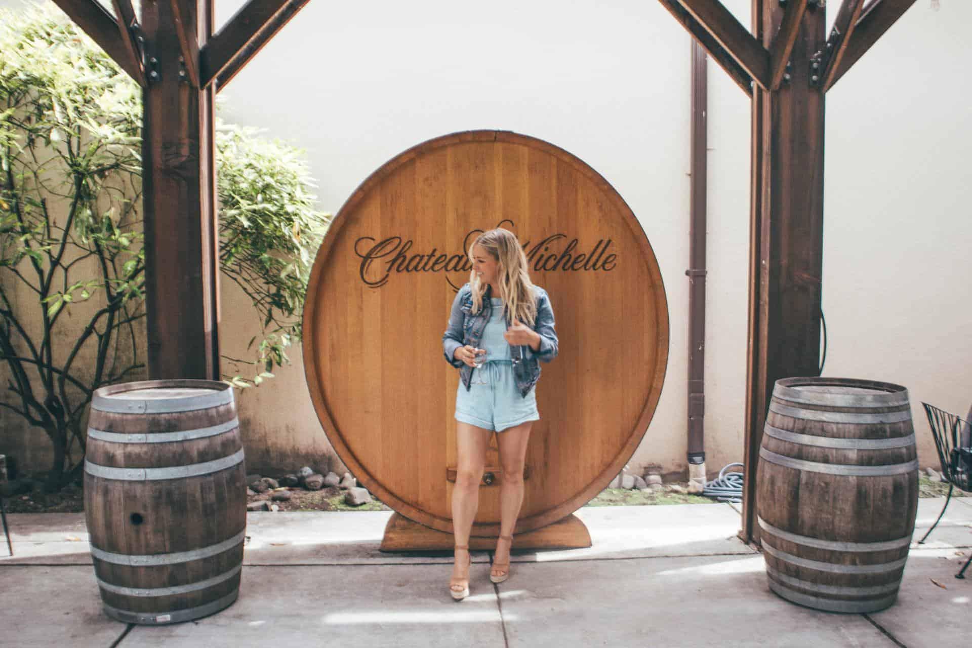 Woodinville wine tasting