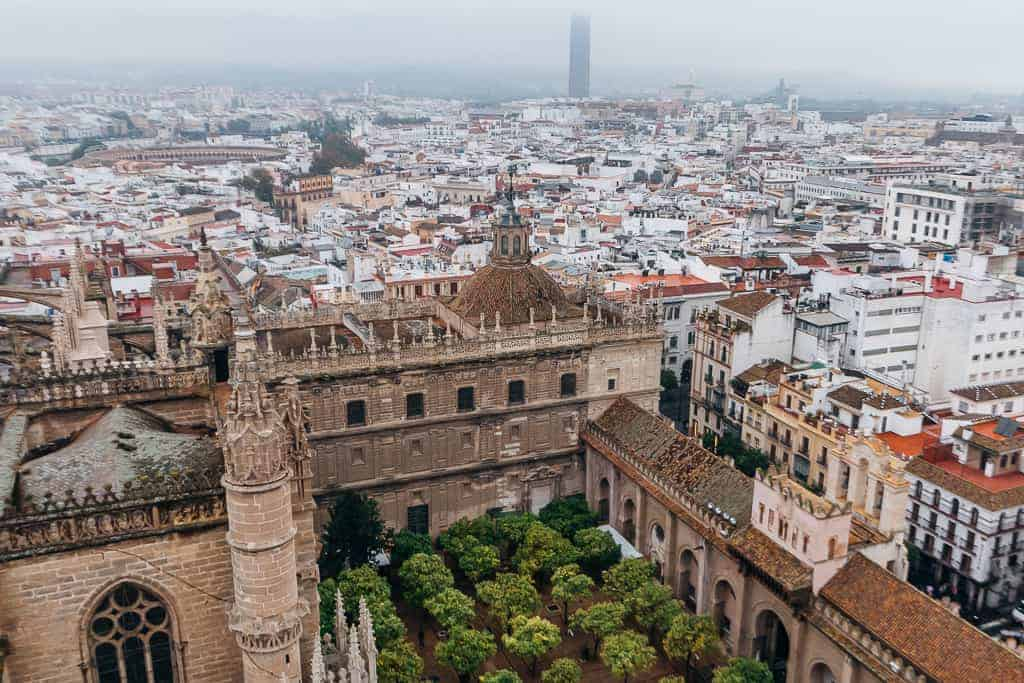 views over seville