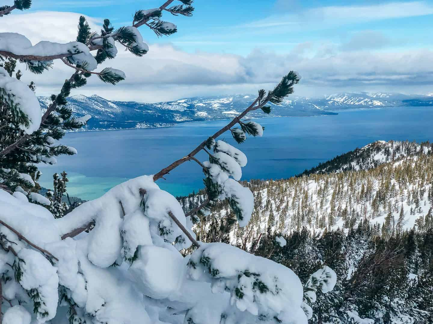 views of lake tahoe from heavenly mountain