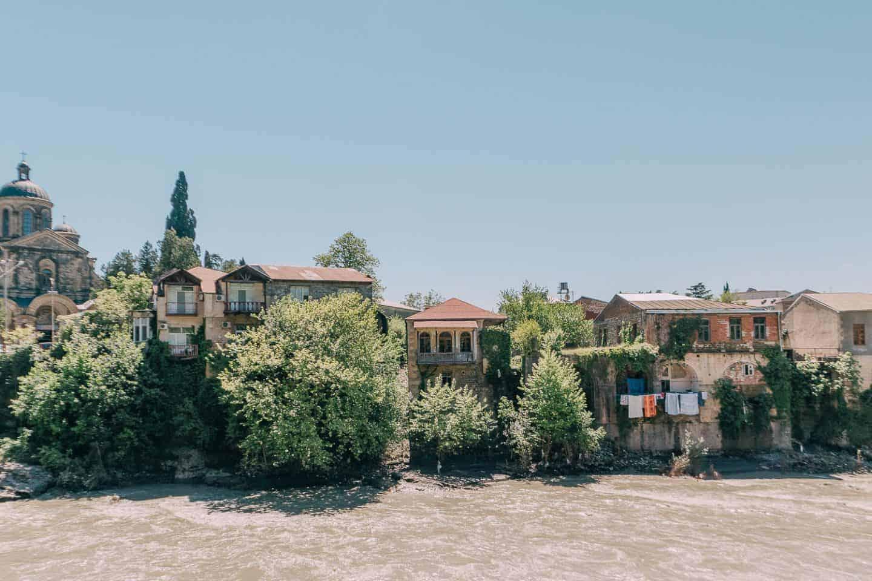 Kutaisi, Georgia - picture of houses