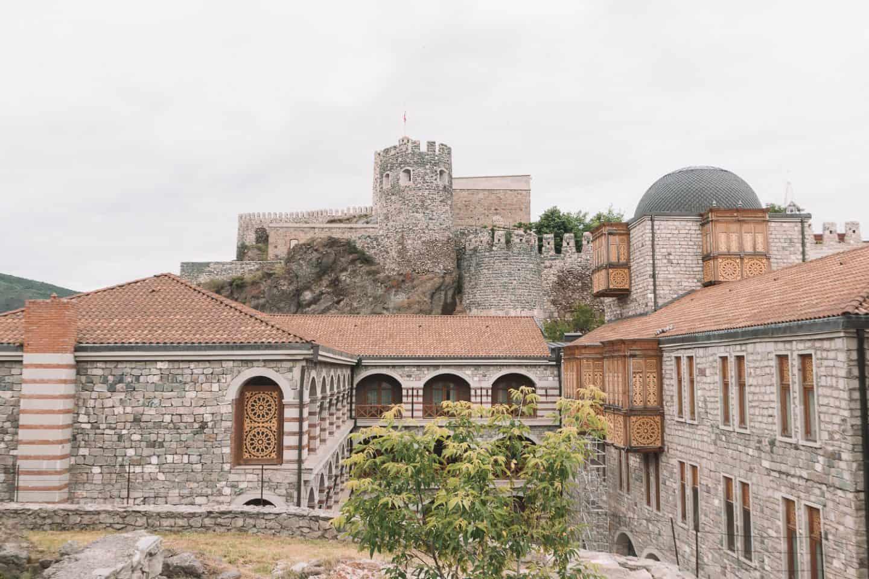 beautiful castle complex