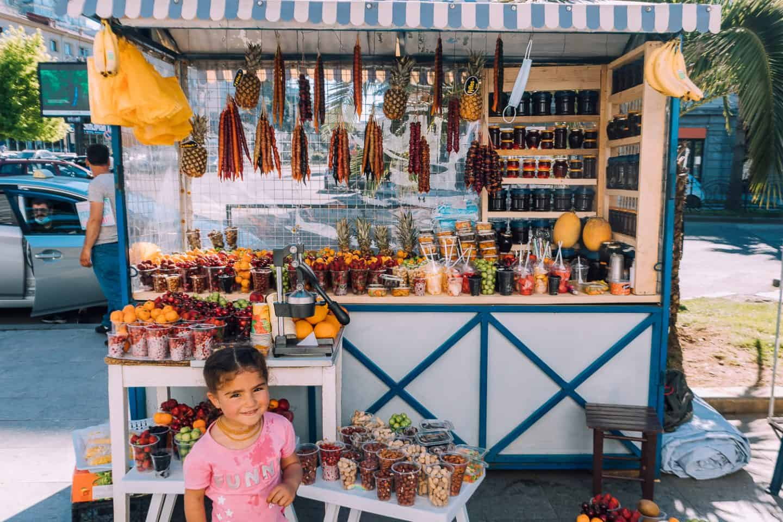 small food stand in georgia