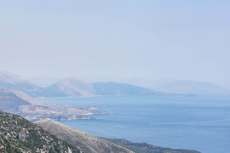 albanian coast line